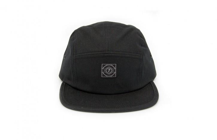 HÄ - THE 5 PANEL CAP SCHWARZ ONE SIZE