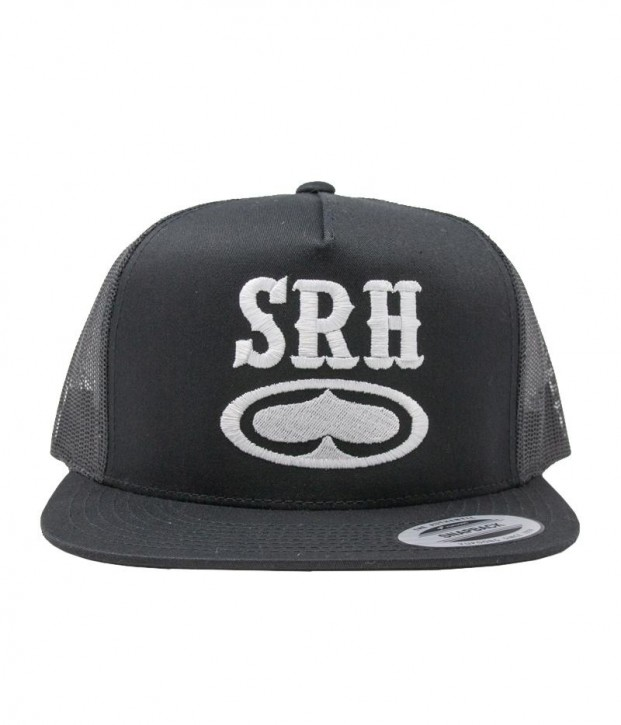 SRH - ROCKER TRUCKER HAT BLACK