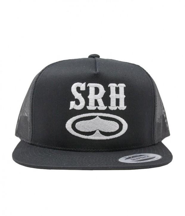 SRH - ROCKER TRUCKER HAT BLACK
