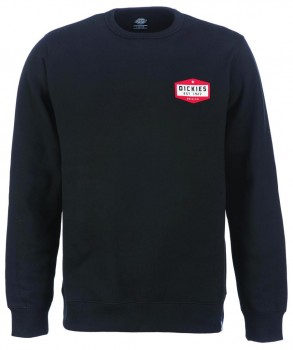 DICKIES - HARBORCREEK SWEATSHIRT BLACK
