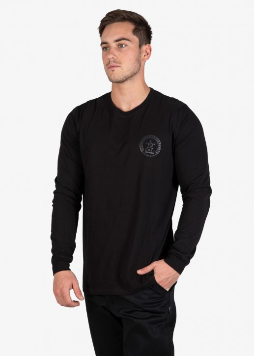 UNIT - BRANCH LONGSLEEVE BLACK
