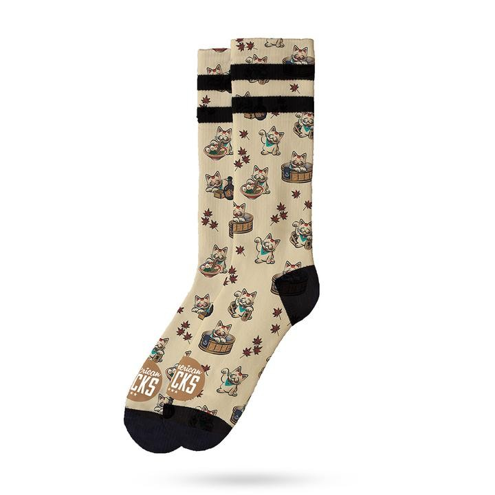 AMERICAN SOCKS - MANEKI NEKO MID HIGH