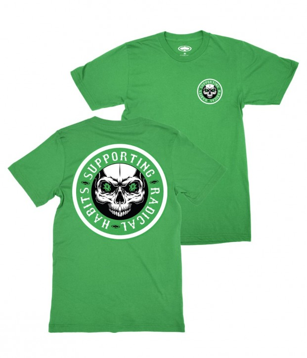 SRH - RIDE OR DIE TEE GREEN
