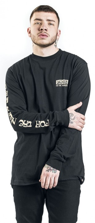 DICKIES - WILLERNIE LONGSLEEVE BLACK