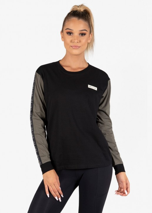UNIT - NOVEL LADIES LONGSLEEVE BLACK
