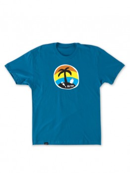 HLTN - LET ME BE TEE TURQUOISE XL
