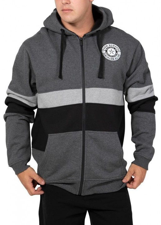 UNIT - TITAN HOODY CHARCOAL
