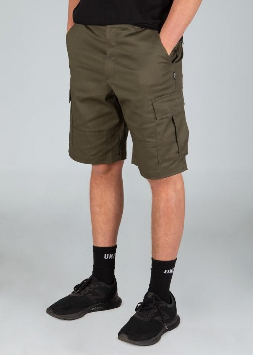 UNIT - BROADCAST WALKSHORTS KHAKI