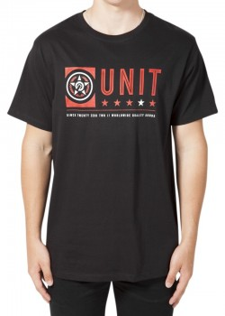UNIT - FORT TEE BLACK