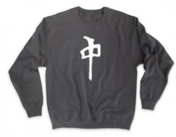 RED DRAGON - CHUNG CREW NECK PULLOVER BLACK