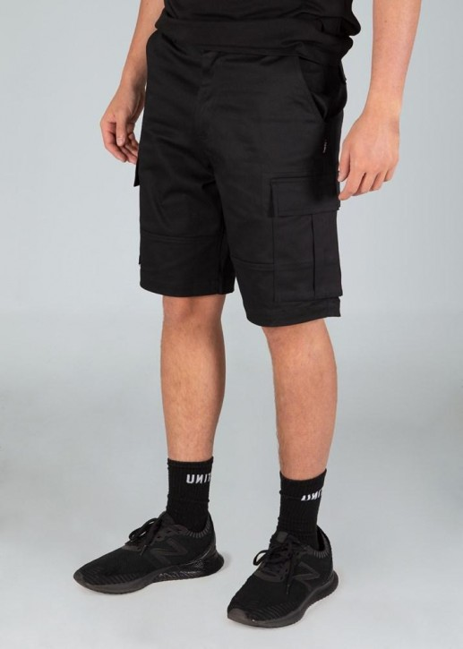 UNIT - BROADCAST WALKSHORTS BLACK