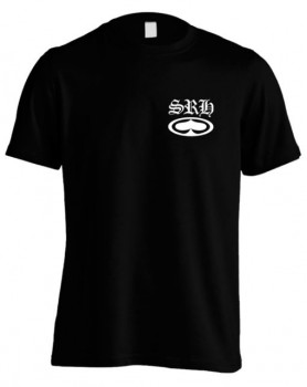 SRH - OLD E SPADED TEE BLACK