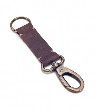 DICKIES - RUSHVILLE KEYRING BROWN ONE SIZE
