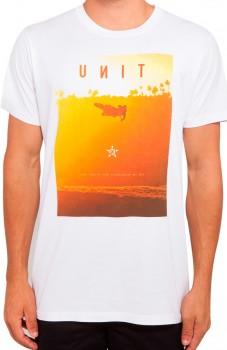 UNIT - FREE RIDE TEE WHITE