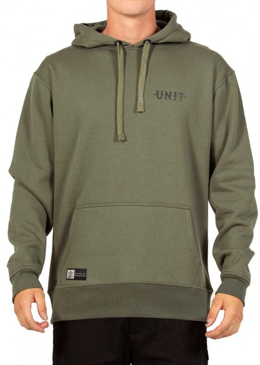 UNIT - PARADISE HOODIE MILITARY