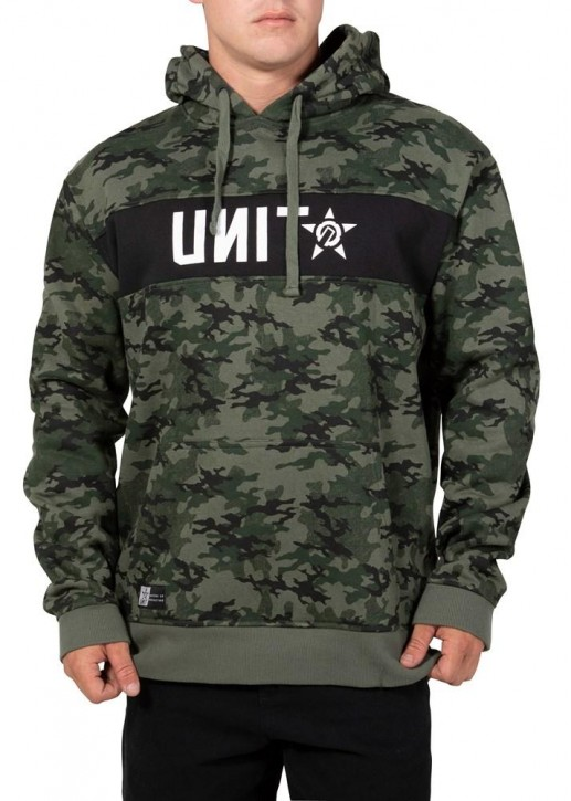UNIT - TREK HOODY CAMO