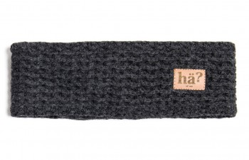 HÄ - UNI HEADBAND GREY MEL ONE SIZE