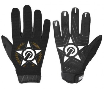 UNIT - RIDING GLOVES HIERARCHY BLACK