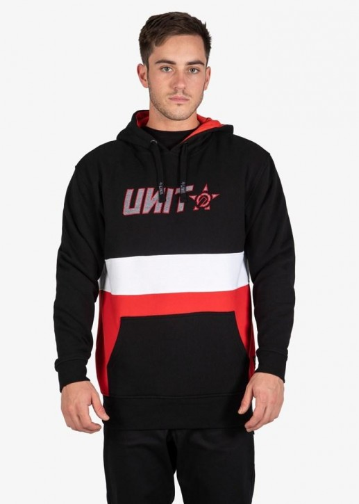 UNIT - EXPRESS HOODIE BLACK RED