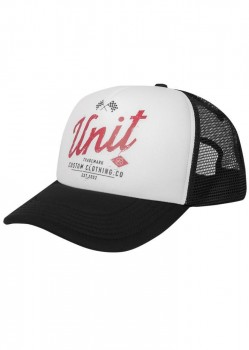 UNIT - DERBY TRUCKER CAP WHITE