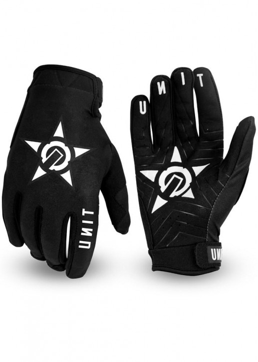 UNIT - CHECK GLOVES BLACK