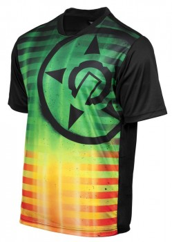 UNIT - SATURN MTB JERSEY RASTA