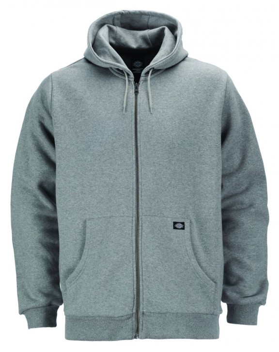 DICKIES - KINGSLEY ZIP HOODY GREY