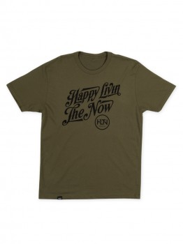 HLTN - NOW TEE MILITARY GREEN