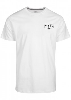 UNIT - SUPPORT TEE WHITE M