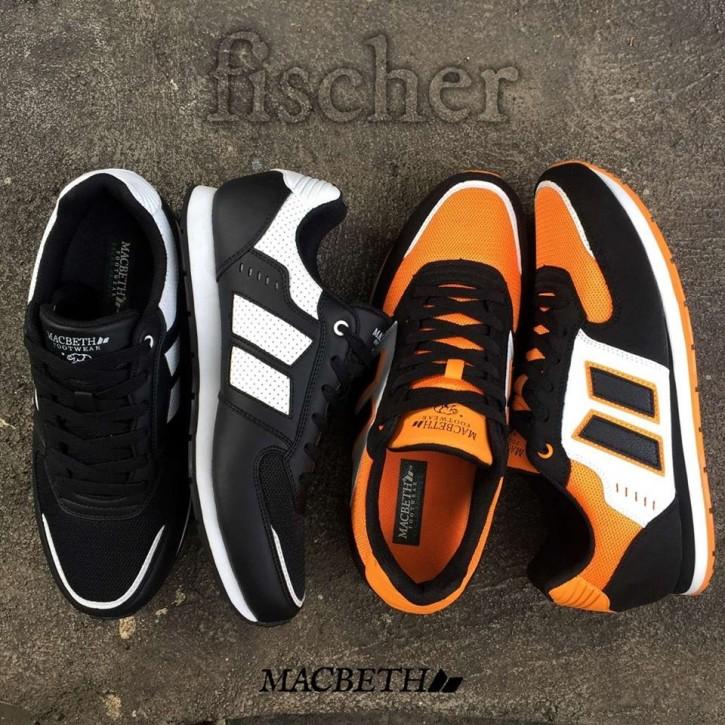 MACBETH - FISCHER ORANGE/BLACK