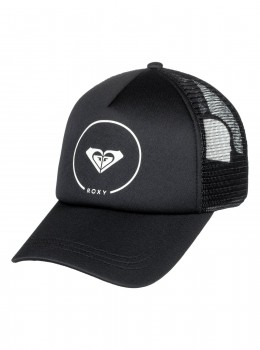 ROXY - TRUCKIN TRUCKER CAP  BLACK