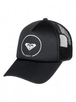 ROXY - TRUCKIN TRUCKER CAP  BLACK