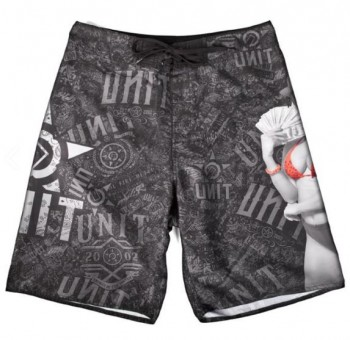UNIT - MONEY TEAM BOARDSHORT BLACK