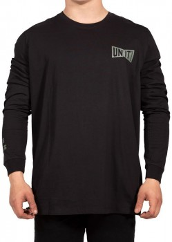 UNIT - GOVERN L/S TEE BLACK