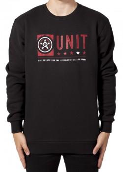UNIT - FORT CREW NECK SWEATER BLACK M