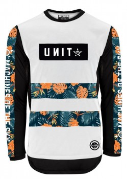 UNIT - HIBISCUS JERSEY WHITE