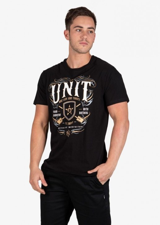 UNIT - CONTRIBUTE TEE BLACK