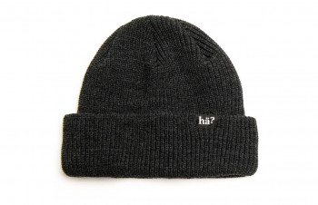 HÄ - NAVIGATOR BEANIE DARK GREY ONE SIZE