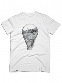 HLTN - MSH LIMITED EDITION ART TEE WHITE