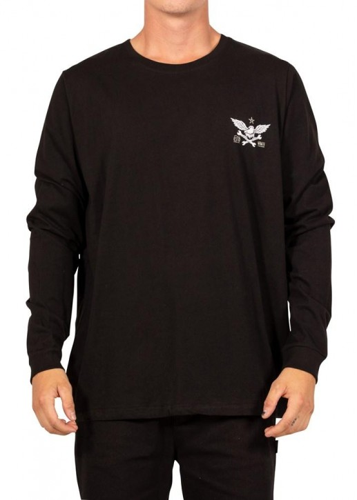 UNIT - ASCEND LONG SLEEVE TEE BLACK
