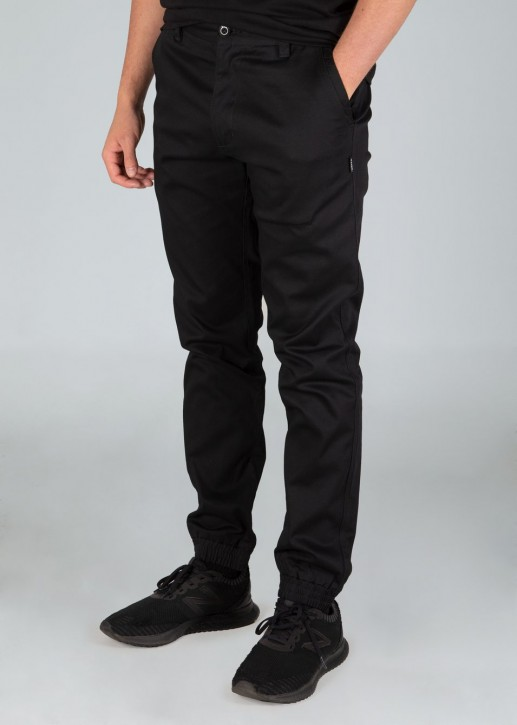 UNIT - ROCKBOTTOM CUFFED PANT BLACK