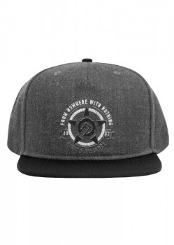 UNIT - SALVAGE SNAPBACK CAP CHARCOAL