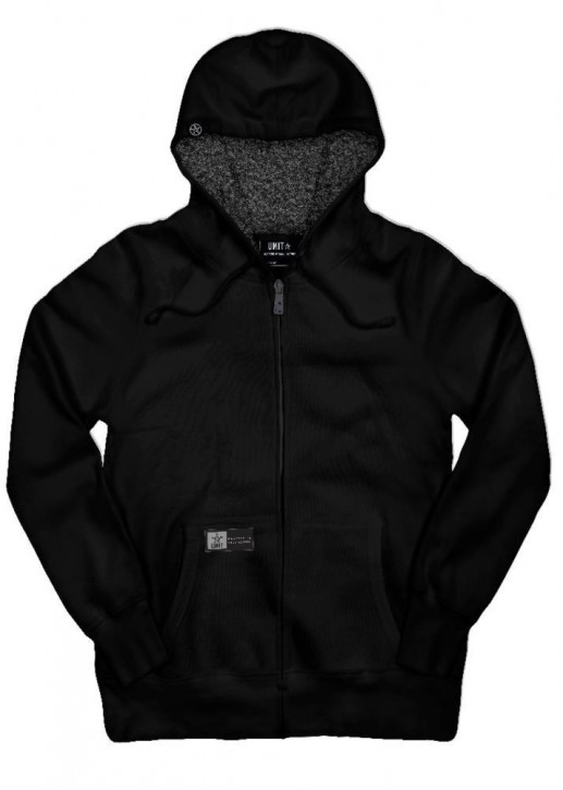UNIT - AXES HOODY BLACK