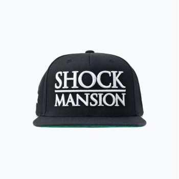 SHOCK - MANSION ESTATE PREMIUM SNAPBACK BLK/WHT