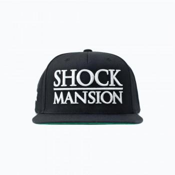 SHOCK - MANSION ESTATE PREMIUM SNAPBACK BLK/WHT