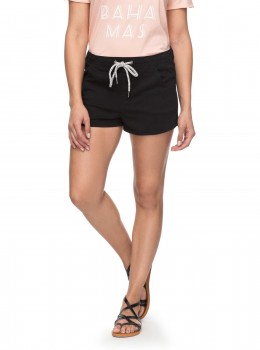 ROXY - MUSIC NEVER STOP SHORTS BLACK