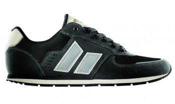 MACBETH - FISCHER BLACK-CEMENT SYNTHETIC SUEDE SHOE