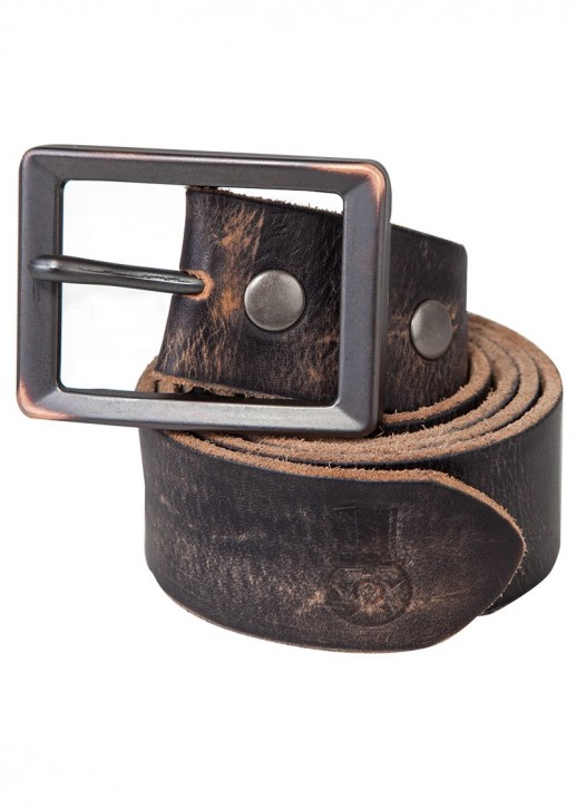 UNIT - HUNTINGTON LEATHER BELT BROWN