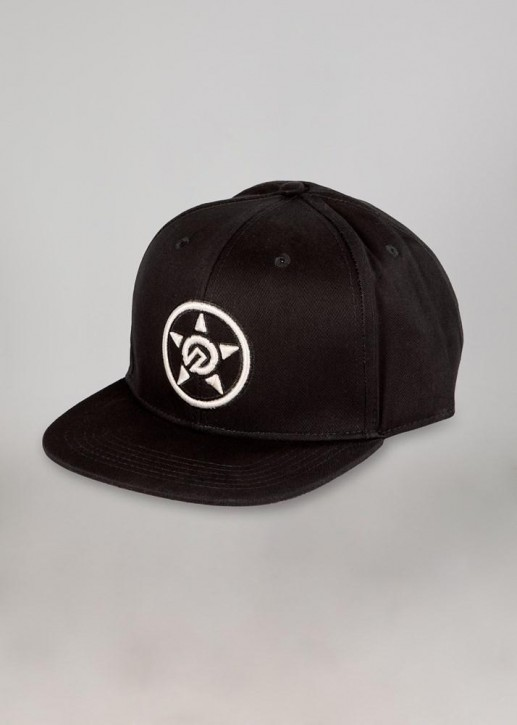 UNIT - MOBSTER FLAT PEAK SNAPBACK BLACK