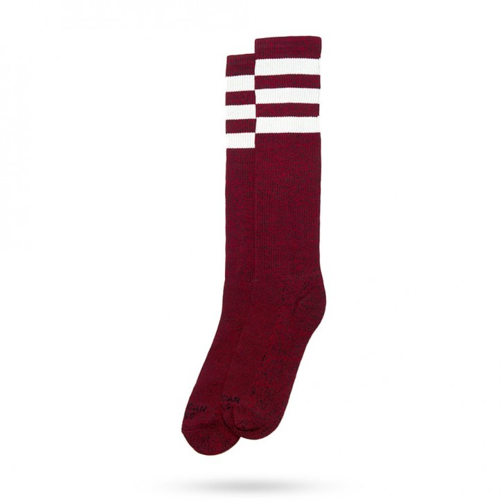 AMERICAN SOCKS - RED NOISE KNEE HIGH